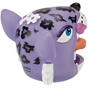 Crazy Safety Lila Leopard fietsbel violet